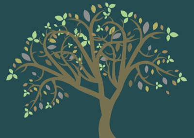image: tree illustration. Socially Responsible Investing | Flournoy Wealth Management
