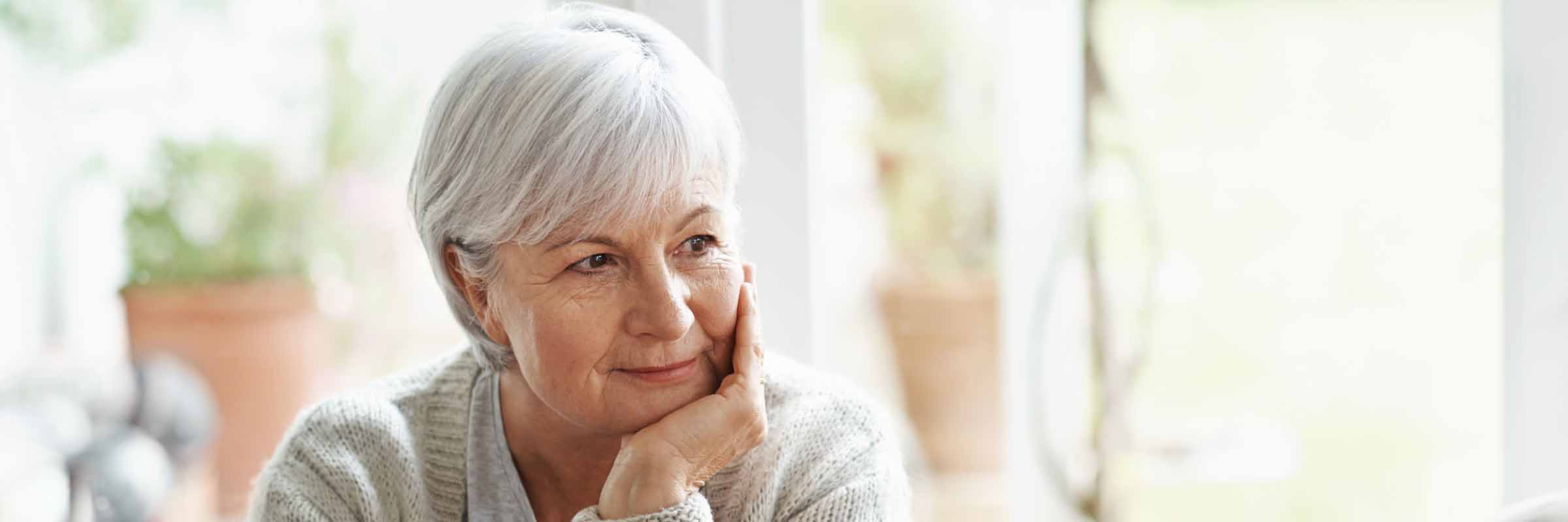 photo of a divorced or widowed woman | Flournoy Wealth Management